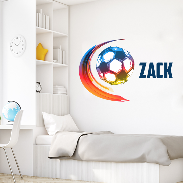 Soccer Life Wall Decal