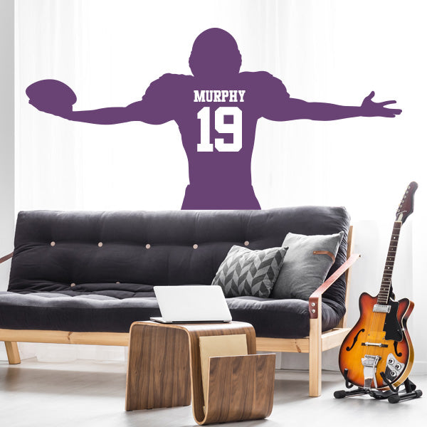 Touchdown Wall Decal