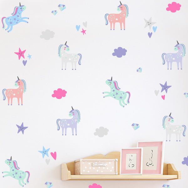 Unicorn Dreams Decal Set
