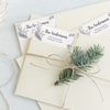 Winter Combo Return Address Labels