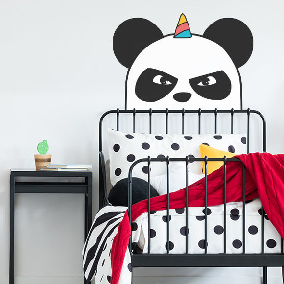 Ninja Panda Wall Decal