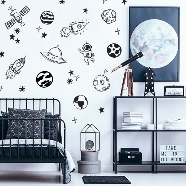 Out of this World Decal Set