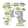 Dinosaur Themed Daycare/Preschool Label Pack