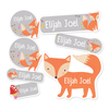 Fox Themed Daycare/Preschool Label Pack
