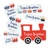 Train Themed Daycare/Preschool Label Pack