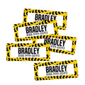 Construction Rectangle Contact Labels