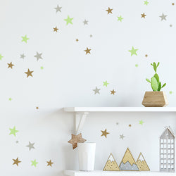 Star Bright Wall Decals