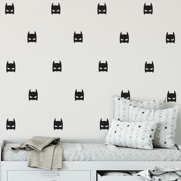 Super Hero Wall Decal Set
