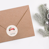 Vintage Holiday Return Address Labels