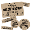 Camp Label Pack With Tween Camp Design Option