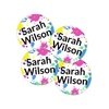 Mini Shoe Labels With Tween Splatter3 Design