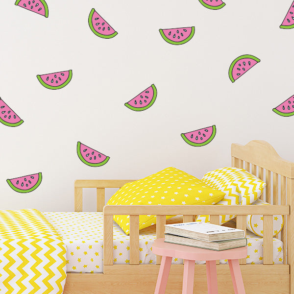 Watermelon Wall Decals Set