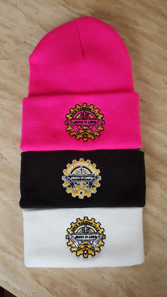 Beanie Gear Logo knit hats