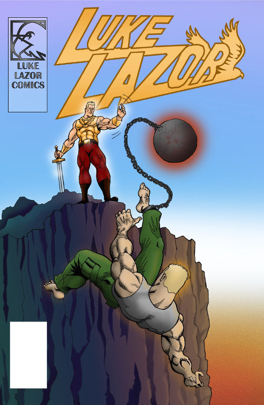 Luke Lazor Comic Book Volume 1