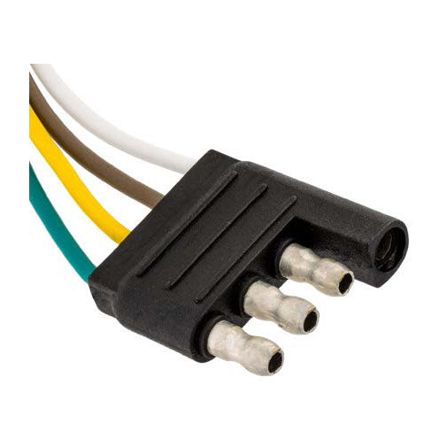 Auveco # 10222  4-Way Harness Connector Male.