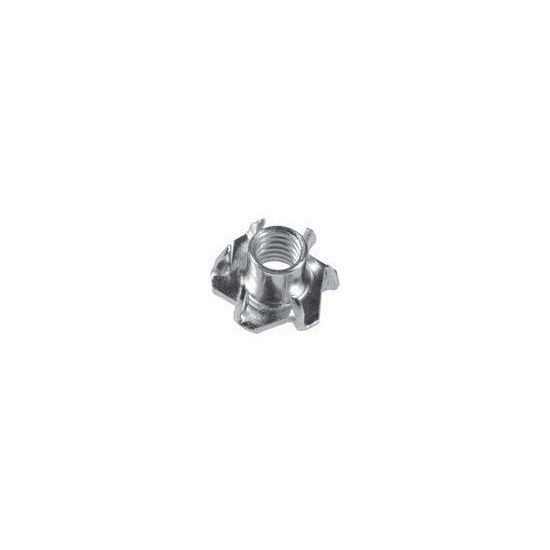 "Tee Nuts 1/4""-20 X 7/16""  6 Prong. Auveco 10730. Qty. 50"