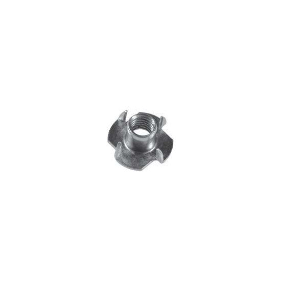 "Auveco # 11325  Tee Nuts 1/4""-20 X 5/16""  4 Prong Slimline."