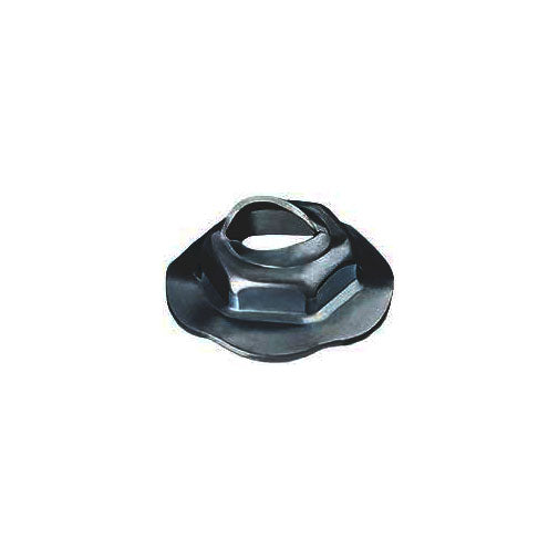 Auveco # 12116  Thread Cutting Nut 5mm Stud Size - Zinc.