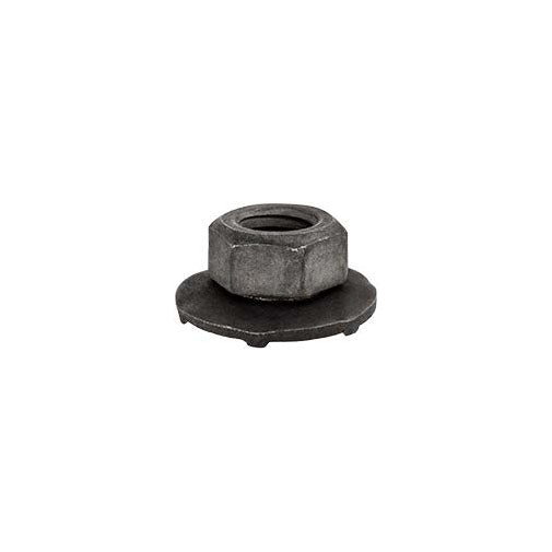 Auveco # 16268  M6-1.0 Free Sping Washer Nut 16mm O/S Diameter 10mm Hex.