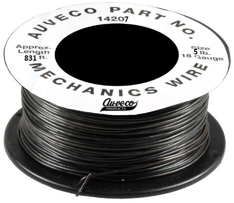 Auveco # 14207  5 Pound 18 Gauge Mechanics Wire.