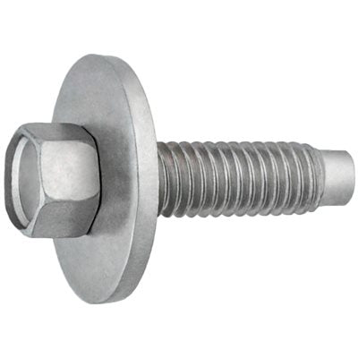 Auveco # 15778  Hex Hd. SEMS Body Bolt Zinc M6-1.0 X 22.5mm.
