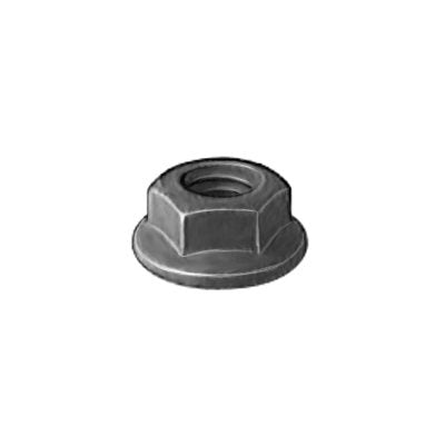 Auveco # 16269  Hex Flange Nut M8-1.25 17mm O/S Diameter 13mm Hex.