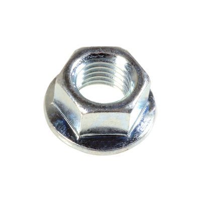 Auveco # 16470  Spin Lock Nut With Serrations M10-1.25 20mm O/S Diameter.