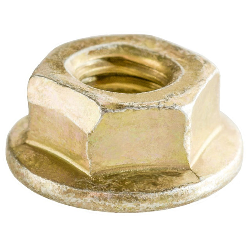 Auveco # 18251  Hex Flange Locknut M6-1.0 Threads 13mm Flange.