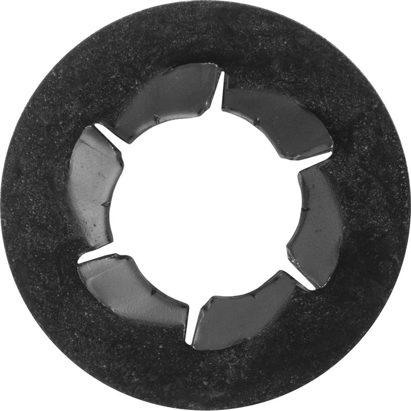 Auveco Item 22799 Pushnut Bolt Retainer 3/8 Bolt 25/32 Od Black Phos. Quantity 100