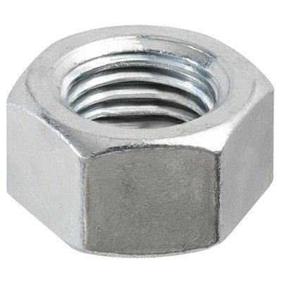 Auveco Item 24126 Reversible Lock Nut 3/8-24 Hex 9/16 - Zinc. Quantity 50
