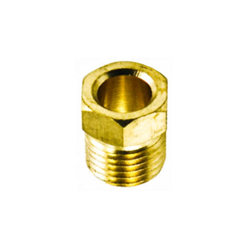 "Auveco # 30  Inverted Nut Brass 3/16"" Tube Size."