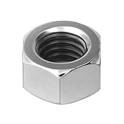 Auveco # 11278  10mm-1.25 Zinc Metric Hex Nut DIN 934 CL 8 - Zinc.