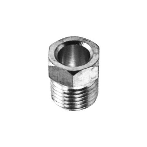 "Auveco # 39  Steel Inverted Nut 3/8"" Tube Size."