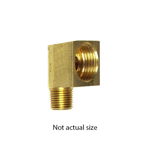 "Auveco # 78  Brass Male Elbow 3/8""."