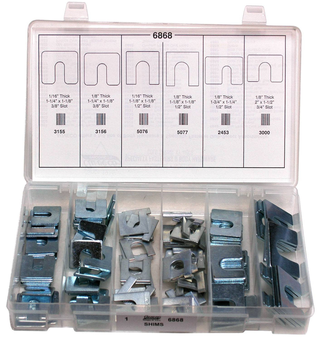 Auveco # 6868  Body Shims Quick-Select Kit.