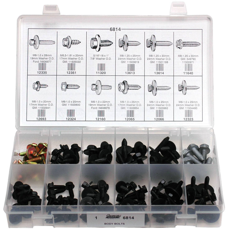 Auveco # 6814  Body Bolt Quik-Select Kit.