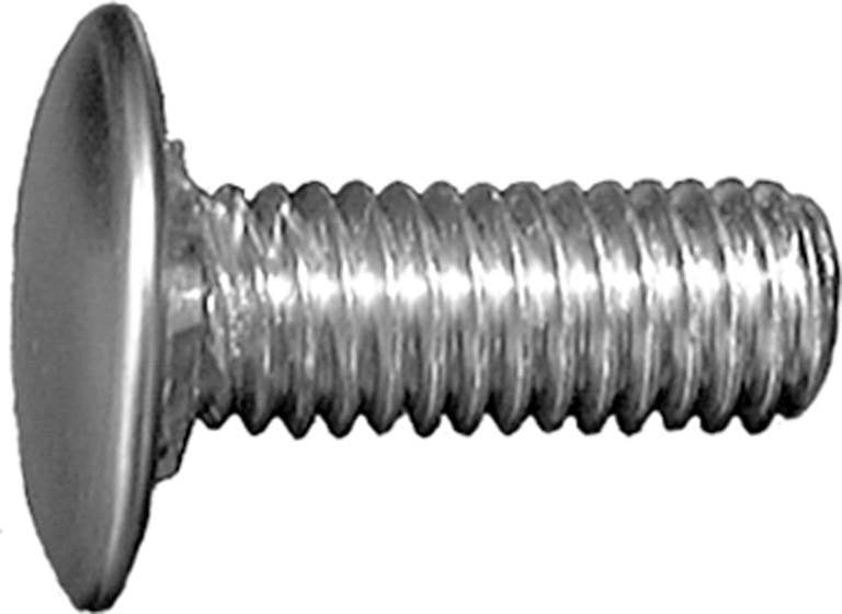 "Auveco # 11614  Bumper Bolt 3/8""-16 X 1"" Stainless Steel Cap Pan Hd. -GM."