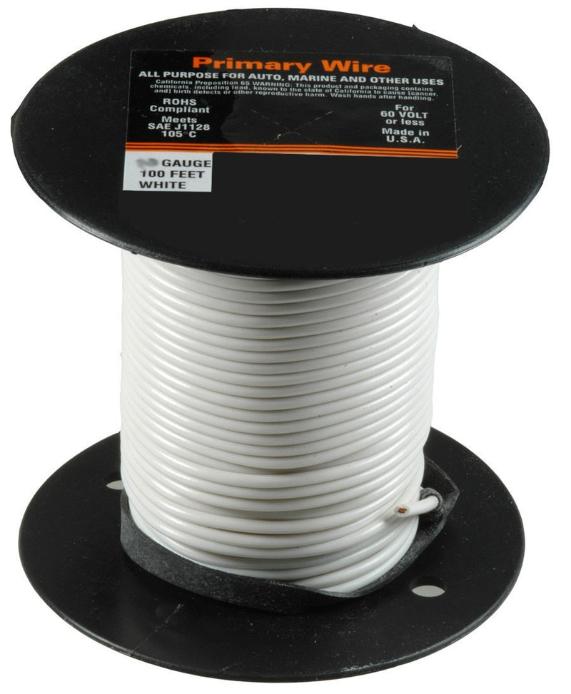 Auveco # 15239  14 Gauge Green 25 Feet Pvc Primary Wire.