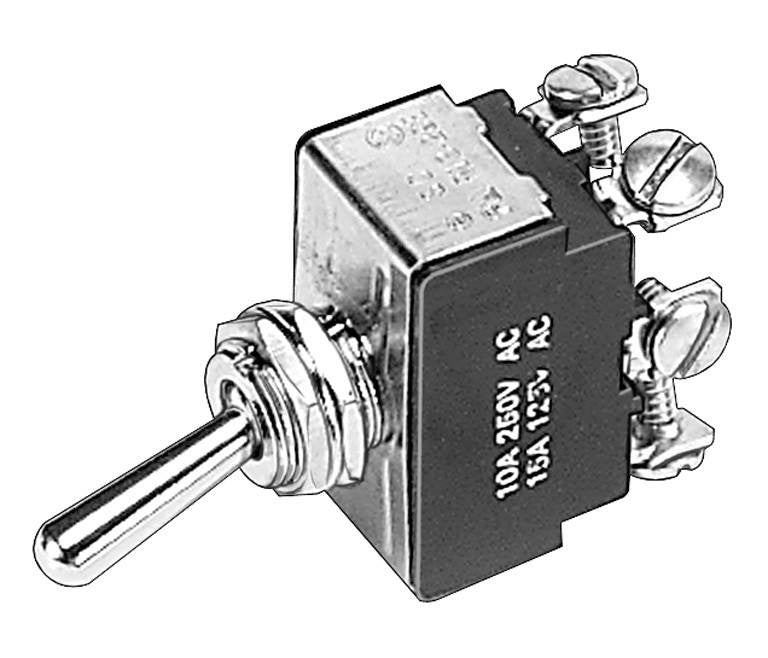 Auveco # 13632  3 Position D.P.D.T. Toggle Switch.