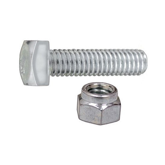 "Auveco # 3186  5/16""-18 X 1-1/4"" Battery Terminal Bolt And Nut Zinc."