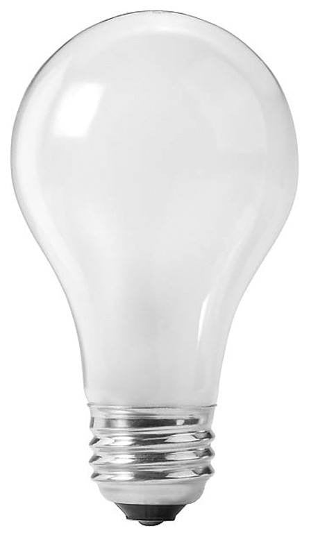 Auveco # 16571  75 Watt Rough Service Light Bulb.