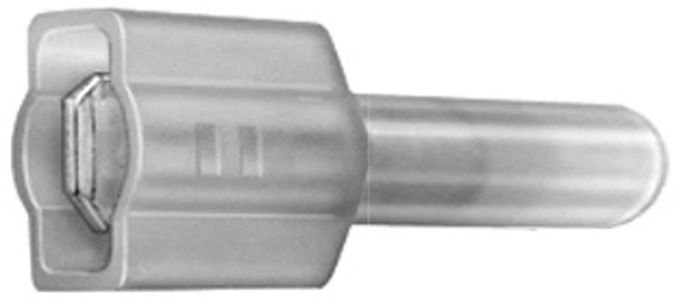 Auveco # 11605  Insulated Nylon Male Quick-Connect Terminal 16-14 Gauge.