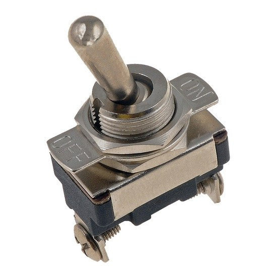"S.P.S.T. Toggle Switch 15/32"" Mounting Stem. Auveco 13630. Qty. 1"