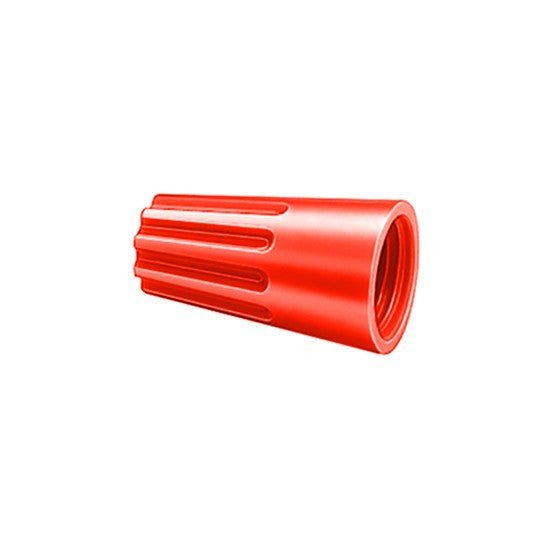Auveco # 15208  Wire Nut 18 - 10 Gauge Red.