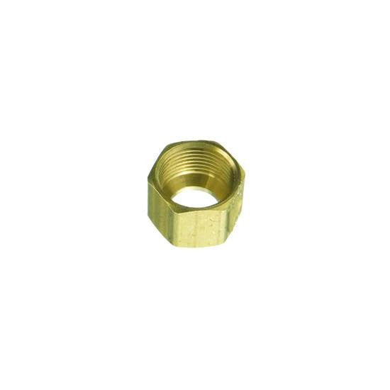 "Auveco # 110  Brass Fitting Compression Nut 1/8""."