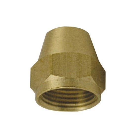 "Auveco # 221  Brass Flare Nut Short 1/4"" Tube Size."