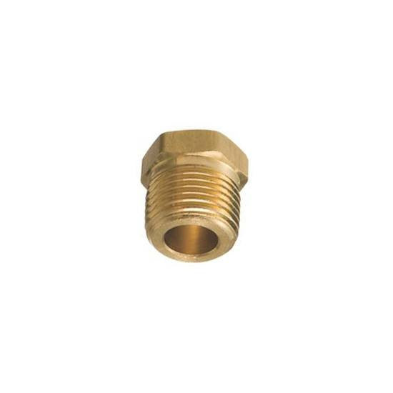 "Auveco # 295  Brass Hex Hd. Plug 1/8"" Pipe Threads."