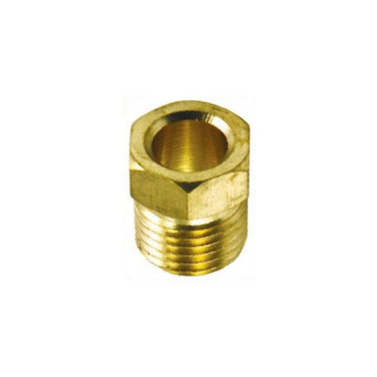 "Auveco # 33  Brass Inverted Nut 3/8"" Tube Size."