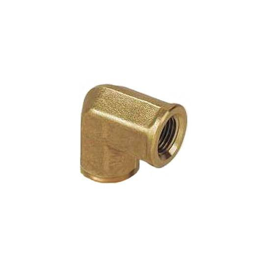 "Auveco # 350  Brass Pipe Elbow 1/8"" Interior Threads 1/8"" Exterior Threads."