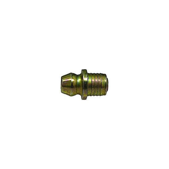 "Auveco # 15054  Grease Fitting 1/4"" Drive Fit Straight (1743)."